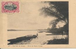 BELGIAN CONGO PC FROM LISALA 05.12.1908 TO SPAIN - Belgian Congo
