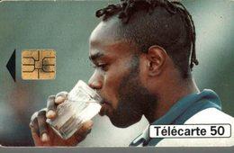 TELECARTE 50 UNITES COLLECTION JOUEURS DU MONDE TARIBO WEST NIGERIA - Frankreich