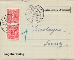 Dänemark: 1939: Lemvig: Laegeberetning - Dänemark