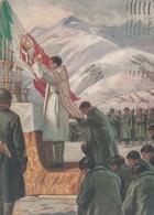 Cartolina - Postcard /   Viaggiata - Sent /  Messa Al Campo. - Guerra 1939-45