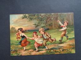 Enfants ( 4224 )   Enfant  Kinderen   Kind  Carte Gaufrée   Reliëf - Enfants