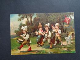 Enfants ( 4225 )   Enfant  Kinderen   Kind  Carte Gaufrée   Reliëf - Enfants