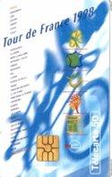 TELECARTE 50 UNITES TOUR DE FRANCE 1998 - Frankreich