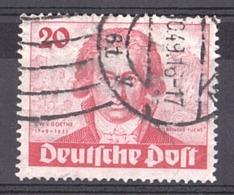 Berlin - 1949 - N° 52 Oblitéré - Goethe - Usati