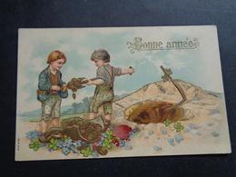 Enfants ( 4233 )   Enfant  Kinderen   Kind  Carte Gaufrée   Reliëf - Enfants