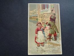 Enfants ( 4235 )   Enfant  Kinderen   Kind  Carte Gaufrée   Reliëf - Enfants