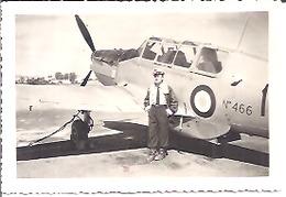 PILOTE DEVANT SON AVION  MEKNES 1952    N°466 - Aviation
