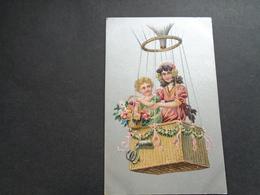 Enfants ( 4240 )   Enfant  Kinderen   Kind  Carte Gaufrée   Reliëf  Ballon - Enfants