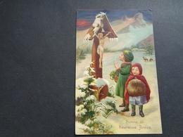 Enfants ( 4242 )   Enfant  Kinderen   Kind  Carte Gaufrée   Reliëf - Enfants