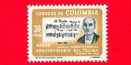 Nuovo - MNH - COLOMBIA - 1964 - Fondazione Del Conservatorio Di Tolima - Alberto Castilla (1878-1937) - 30 P.a. - Colombia