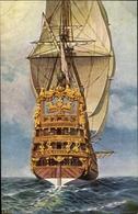 Artiste Cp Rave, Chr., Marine Galerie Nr. 68, Französisches Linienschiff Le Soleil Royal - Unclassified