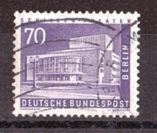 Berlin - 1956/63 - N° 134 Oblitéré - Théâtre Schiller - Usati