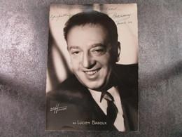 Lucien BAROUX Dédicace à Madame Bendavid - Foto Dedicate
