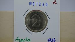Angola 2 Kwanzas 1977 Km#84 - Angola