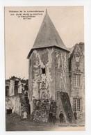 - CPA SAINT MARS DE COUTAIS (44) - Le Vieux Château - La Tour (avec Personnages) - Collection Chapeau 945 - - Francia