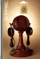 TELECARTE 50 UNITES COLLECTION HISTORIQUE TELEPHONE MILDE 1892 - Frankreich