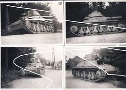 Blindés Français Hotchkiss H-39 Abandonnés Dans Le Secteur De Nalinnes- Ham Sur Heure En Mai 40./ Repros - Véhicules