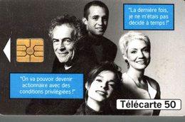 TELECARTE 50 UNITES FRANCE TELECOM OUVRE SON CAPITAL - Frankreich