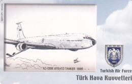 TURKEY - KC-135R Strato Tanker 1995/Mart 2009 (Aircraft) , Tirage 200,000 , 50 Unit ,used - Türkei