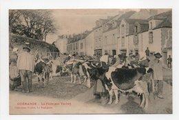 - CPA GUÉRANDE (44) - La Foire Aux Vaches (belle Animation) - Collection Fodéré - - Guérande