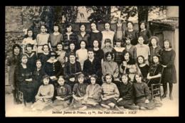 06 - NICE - INSTITUT JEANNE DE FRANCE, 13 BIS RUE PAUL DEROULEDE - LES ELEVES - Autres