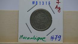 Mozambique 10 Escudos 1952 Ag Km#79 - Mozambico