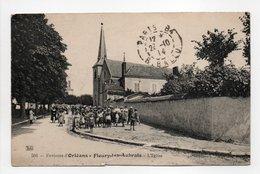 - CPA FLEURY-LES-AUBRAIS (45) - L'Eglise 1914 (avec Personnages) - Editions Gouttefangeas 501 - - Frankrijk