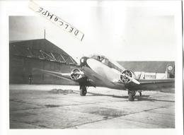 PHOTO AVION POTEZ 56 11X8CM - Aviation
