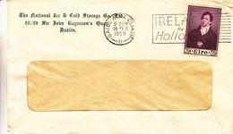 Irlande - Lettre De 1953 - Oblit Baile Atha Cliath - Pub Vacances - 1949-... Republic Of Ireland