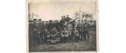 GR  //  Photo --Soldats Allemands  - Devant Un Canon -  28/5/1917 - Guerra 1914-18