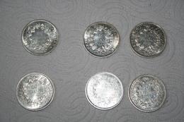 Lot De 6 Pièces De 10 Francs Hercule - K. 10 Francs