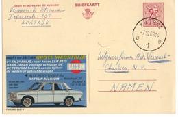 Publibel - 2337 N - DATSUN - NAAR JAPAN - KUURNE - 1969. - Publibels