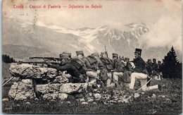 ITALIE --  TRENTO --  Esercizi Di Fanteria - Trento