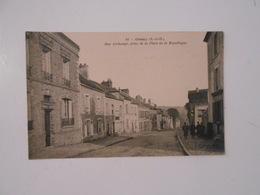 CPA ORSAY (91) - Rue Archange - Orsay