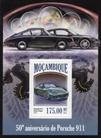 Mocambique 2013  -  50e Anniversaire De PORSCHE 911  - 1v Sheet Neuf/Mint/MNH - Coches