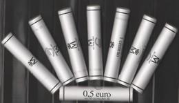 ANDORRA EUROS  10 CARTUCHOS CON 50 MONEDAS DE 0,01cts. DE € DEL AÑO 2018 OFERTA ESPECIAL. - Andorra