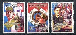 Thème Général De Gaulle - Madagascar Yvert 987 à 989 - Dentelé Neuf Xxx - Lot 219 - De Gaulle (General)