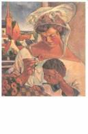 Art - Peinture - G H Sabbagh - Agnès Et Pierre - Voir Scans Recto-Verso - Schilderijen