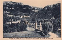 ROVON  SAINT GERVAIS       LE PONT DE ST GEVAIS - Francia