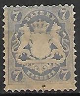 BAVIERE    -    1875 .   Y&T N° 33 Oblitéré - Bayern (Baviera)