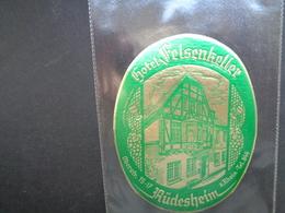 Document ( 2846 )  étiquette D' Hôtel  Etiket  - Reclame  Publicité -   Rüdesheim - Etiquettes D'hotels