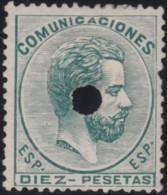 Espana      .    Yvert          .    128      .         (*)      .     Pas De Gomme    .  /   .  No Gum - 1872-73 Königreich: Amédée I.