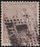 Espana      .    Yvert          .    134     .         O      .       Oblitéré  .  /   Cancelled - 1873 1st Republic