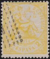 Espana      .    Yvert          .    141     .         O      .       Oblitéré  .  /   Cancelled - 1873-74 Regency