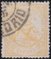 Espana      .    Yvert          .    147      .         O      .       Oblitéré  .  /   Cancelled - 1873-74 Regency