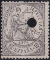 Espana   .    Yvert  .    150      .     (*)      .      Pas De Gomme    .  /  .   No Gum - 1873-74 Regentschaft