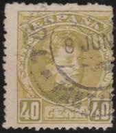 Espana      .    Yvert          .    167  (2 Scans)      .         O      .       Oblitéré  .  /   Cancelled - 1875-1882 Königreich: Alphonse XII.