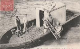 *** 44  ***  ST NAZAIRE  Scaphandrier Dans Le Bassin La Descente - TTBE - Saint Nazaire