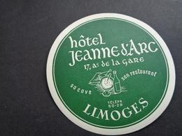 Document ( 2854 )  étiquette D' Hôtel  Etiket  - Reclame  Publicité -  Limoges - Etiquettes D'hotels