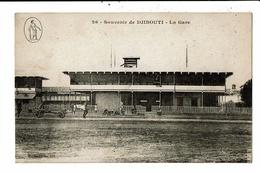 CPA-Carte Postale-Djibouti- La Gare   VM10083 - Gibuti